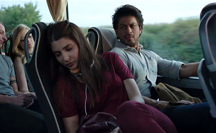 Harry Looks Towards Sejal In A Still From Jab Harry Met Sejal