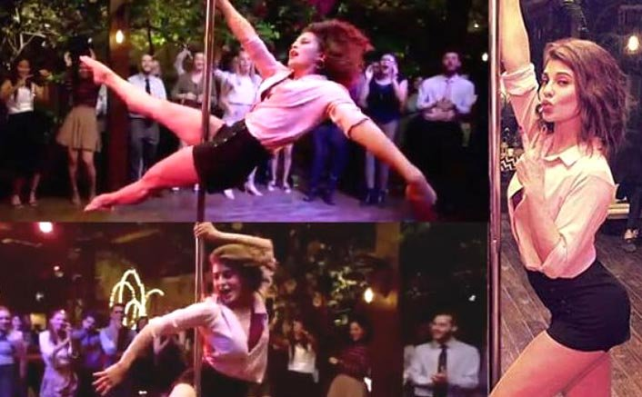 This is how Jacqueline Fernandez aced her pole dance act for 'A Gentleman'