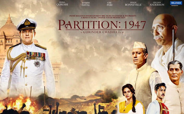 'Partition: 1947' banned from release in Pakistan