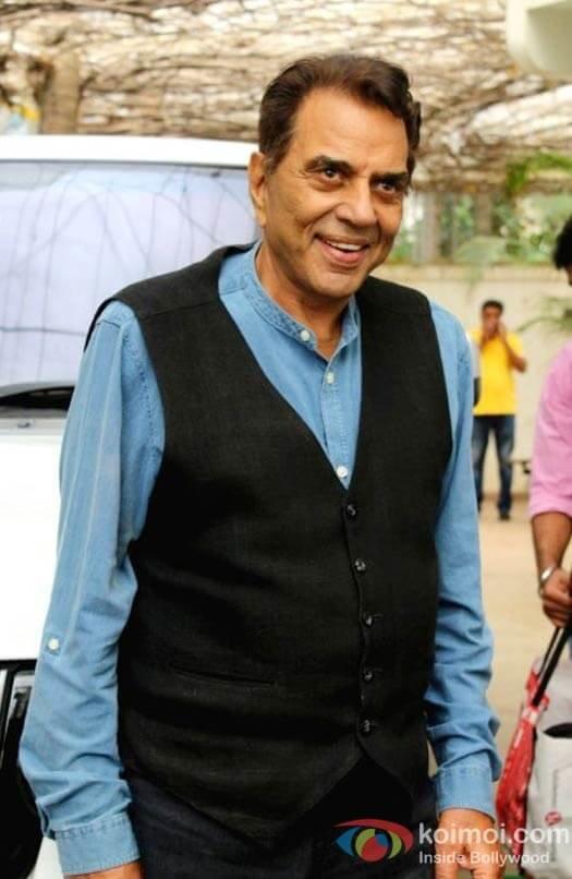 Press Release Actor Dharmendra starts dubbing of his first International Short film 'Dreamcatcher'