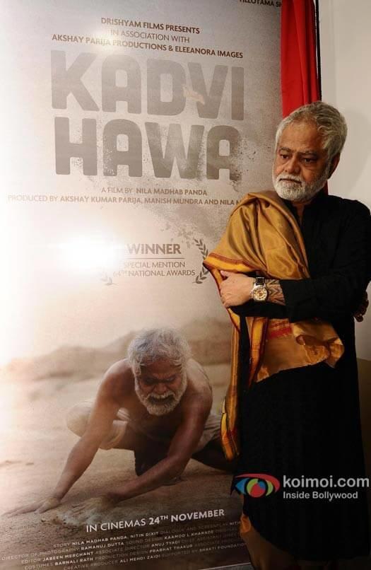 Sanjay Mishra starrer KADVI HAWA's first look