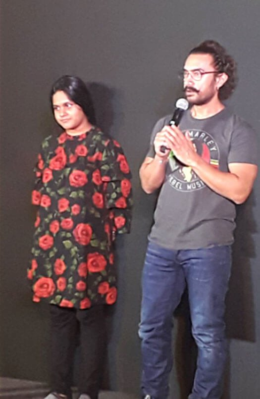 At The Secret Superstar's Song Launch, Aamir Khan Introduced THIS Superstar From The Film