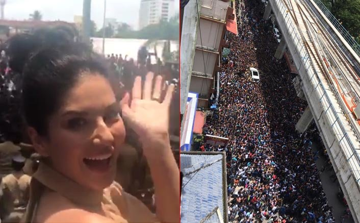 Sunny Leone Makes Her Fans Go Crazy In Kochi