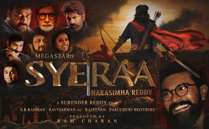 Chiranjeevi's Sye Raa Narasimha Reddy Motion Poster Revealed! Find Out More Here!