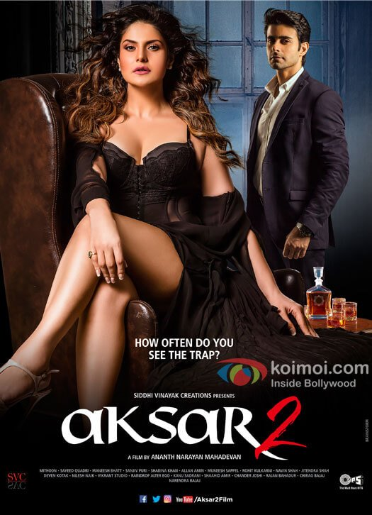 Take A Look At This Hot Poster From Aksar 2 Starring Zarine Khan and Gautam Rode