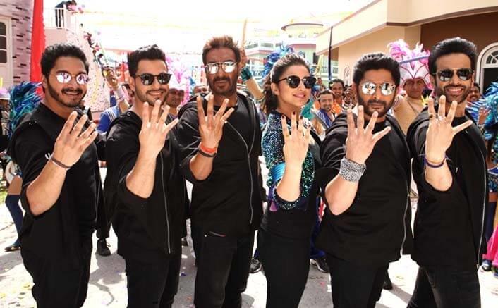 The team of Golmaal Again flew to Hyderabad for some 'Golmaal Golmaal'!