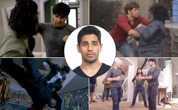 Watch A Gentleman Sidharth Malhotra perform hand to hand action