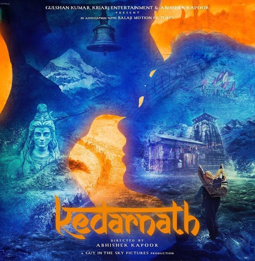 The Poster Of Sushant Singh Rajput and Sara Ali Khan's Kedarnath Is Nothing Less Than Majestic!