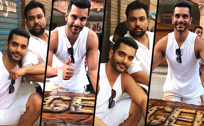 Angad Bedi Wraps Up His Shooting Schedule For Tiger Zinda Hai In Abu Dhabi