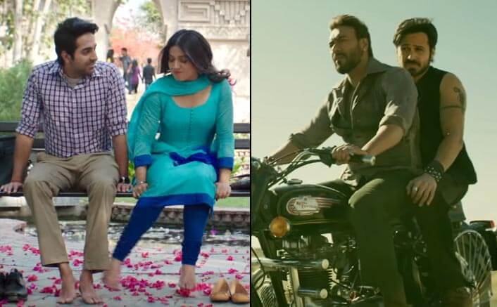 Baadshaho and Shubh Mangal Savdhan continue to bring in audiences in huge numbers on Saturday
