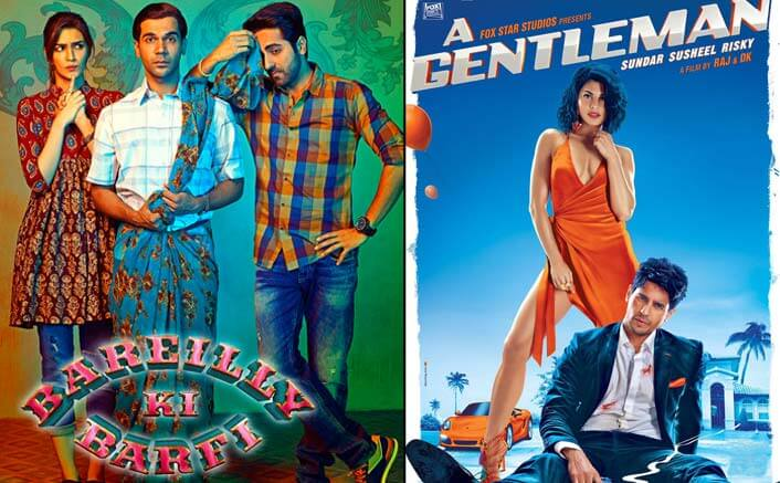 Box Office - A Gentleman is a Disaster, Bareilly Ki Barfi emerges a success