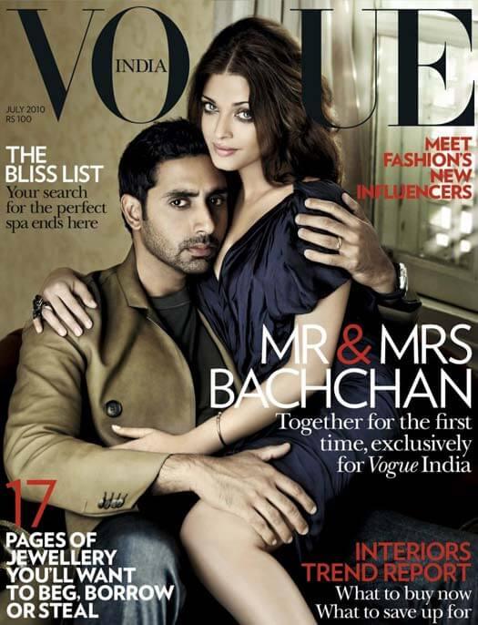 Aishwarya Rai Bachchan & Abhishek Bachchan