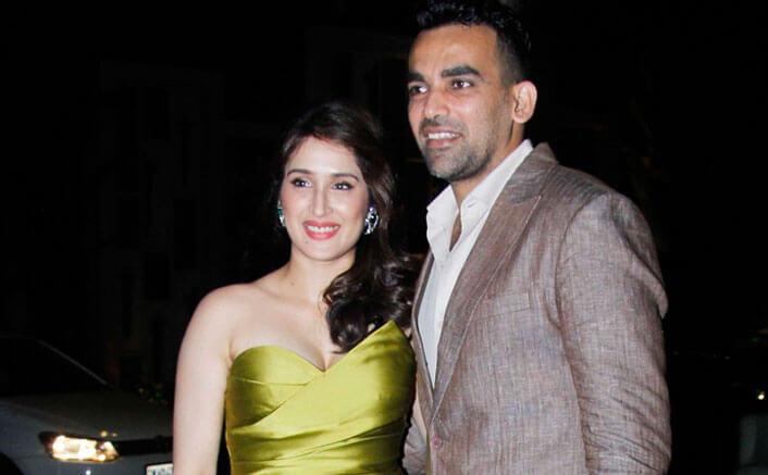 "Zaheer Khan and ""Chak De"" star Sagarika Ghatge"
