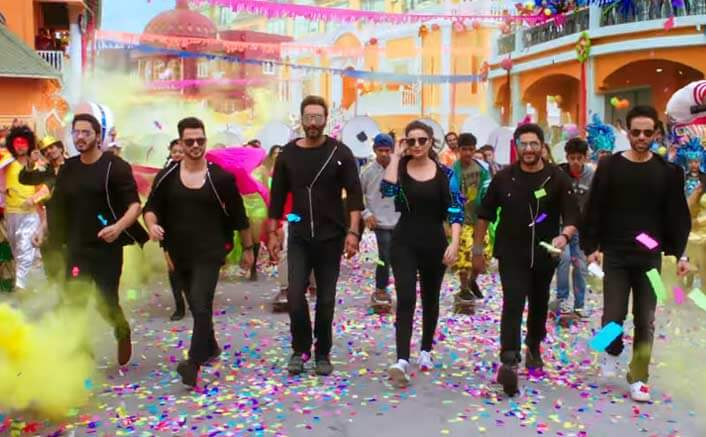 The Title Track Of Golmaal Again
