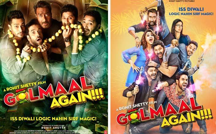 Golmaal Again Posters