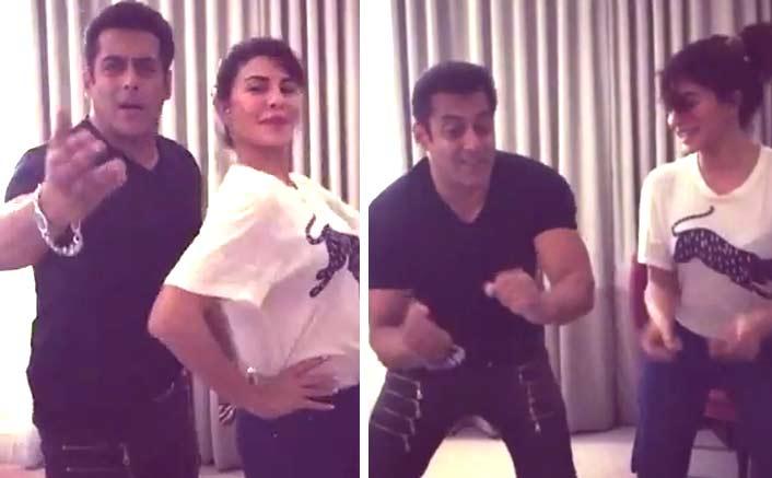 Jacqueline Fernandez and original Judwaa Salman Khan groove on 'Chalti Hai Kya 9 se 12'!