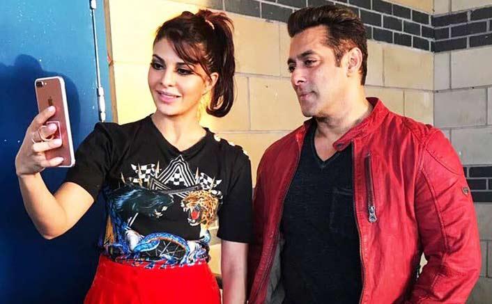 Jacqueline Fernandez promotes Judwaa 2 with original Judwaa Salman Khan