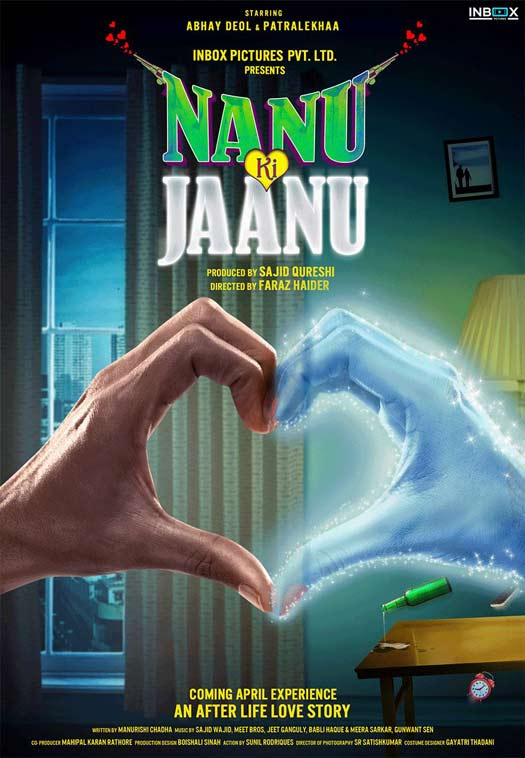 Check Out The Quirky Poster Of Abhay Deol and Patralekhaa's Nanu Ki Jaanu