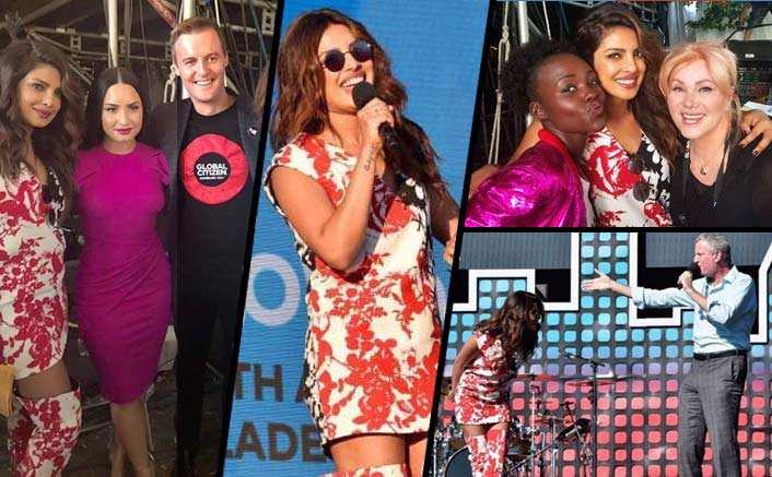 Priyanka Chopra Rocks The Sassy Floral Look At The Global Citizen Festival