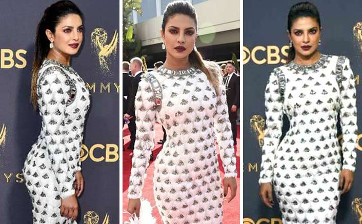 Priyanka Chopra Makes A Drool-Worthy Red Carpet Appearance At The 69th Emmy Awards