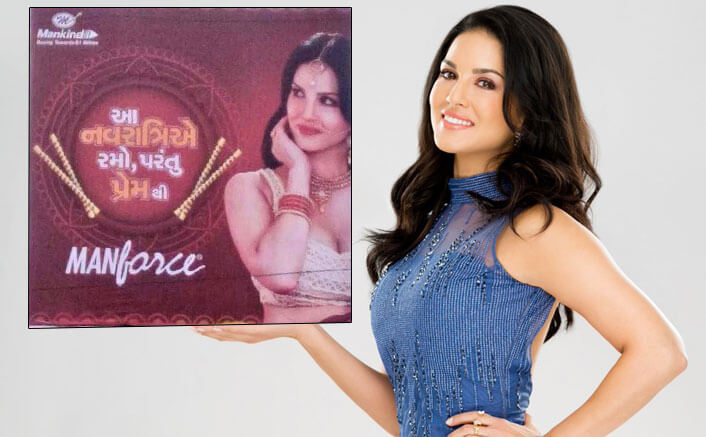 Sunny Leone Amidst A Controversy, Manforce Condom's Navratri Ad Outrages Many