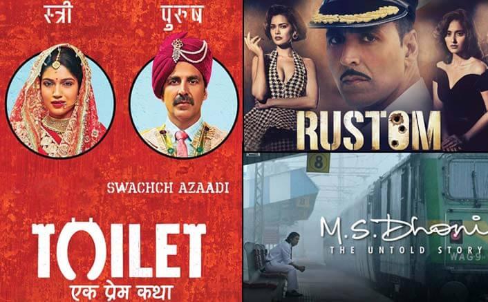 Toilet: Ek Prem Katha Beats M.S. Dhoni - The Untold Story & Rustom At The Worldwide Box Office