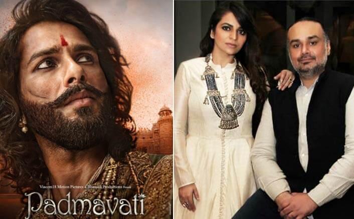 Shahid Kapoor's costumes for Padmavati explains Rimple and Harpreet Narula