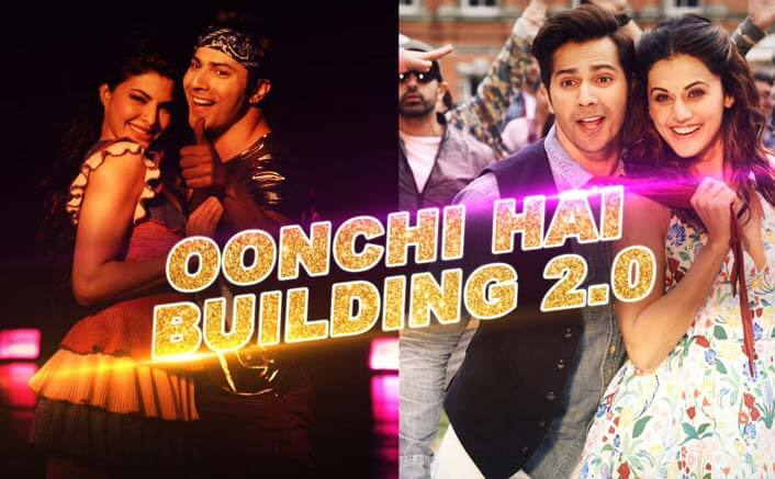 Varun Dhawan and Jacqueline Fernandez kill it in this BTS of 'Oonchi Hai Building 2.0' from Judwaa 2