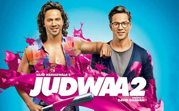 Watch Varun Dhawan performing power packed action in BTS of 'Judwaa 2'!