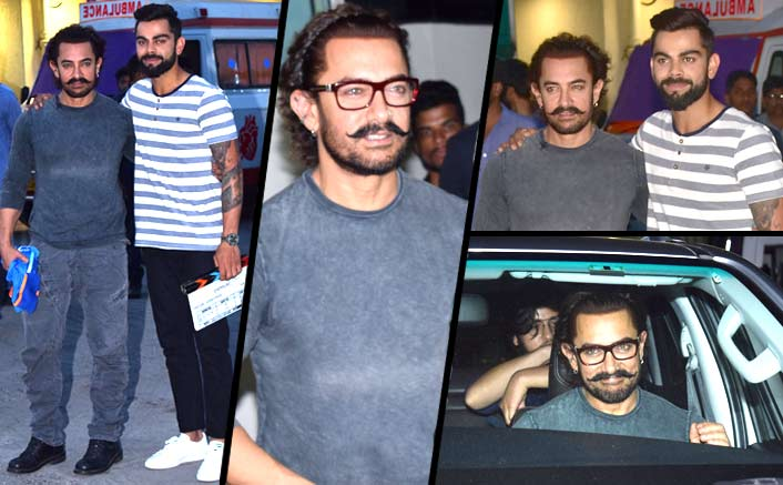 Aamir Khan and Virat Kohli promote Secret Superstar, exchange special gifts!
