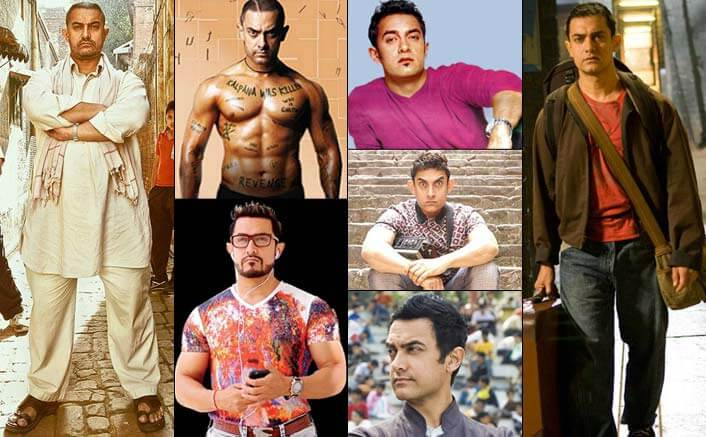 Aamir Khan's chameleon-like transformation never fails to stun us
