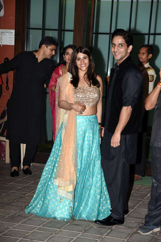 Bollywood Celebrities Dazzle At Arpita Khan's Diwali Party