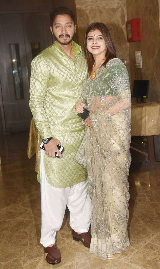Shreyas Talpade and Deepti Talpade At Ramesh Taurani's Diwali Party