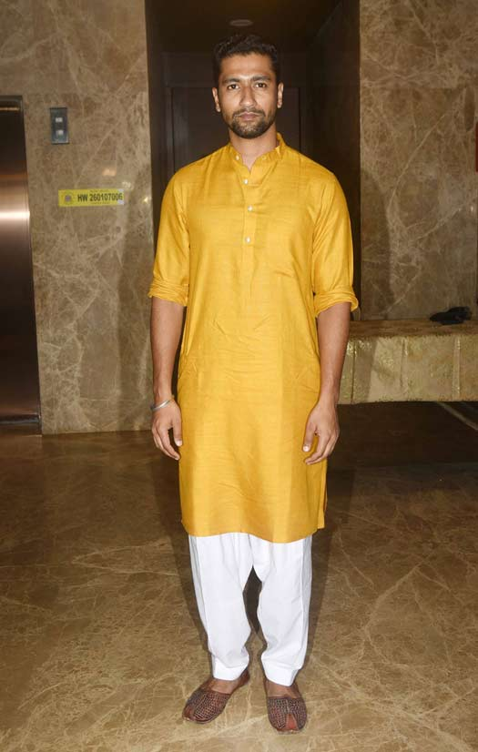Vicky Kaushal At Ramesh Taurani's Diwali Party