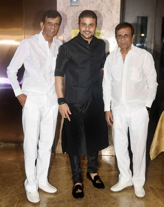 Mustan Burmawalla, Mustafa Burmawalla and Abbas Burmawalla At Ramesh Taurani's Diwali Party