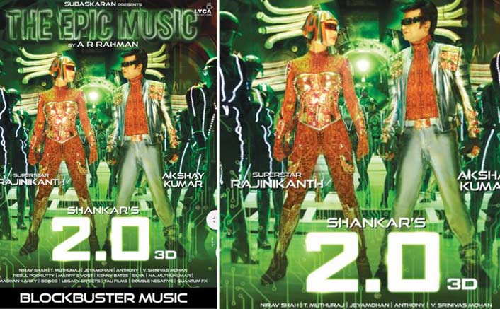 Check Out The New Poster Of Rajnikanth's 2.0