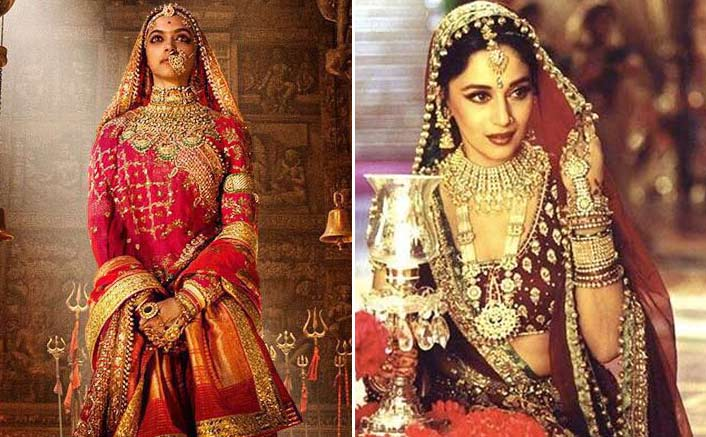 Deepika Padukone's Costume In Padmavati Is Expensive Than Madhuri Dixit's Devdas Costume?
