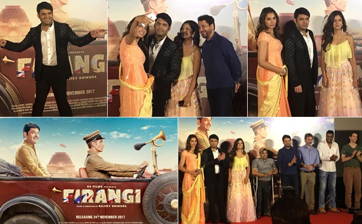 Firangi trailer launch: Kapil finally breaks his silence & talks about SRK, Sunil and more!