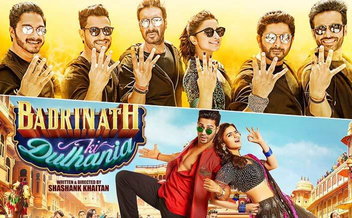 Golmaal Again Beats Badrinath Ki Dulhania In The List Of Highest Grossing Movies Of 2017