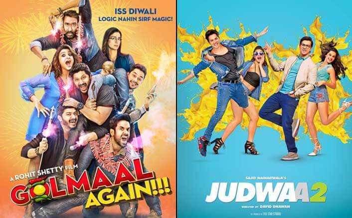 Golmaal Again Beats Judwaa 2 To Become 2nd Highest Grossing Film Of All Time