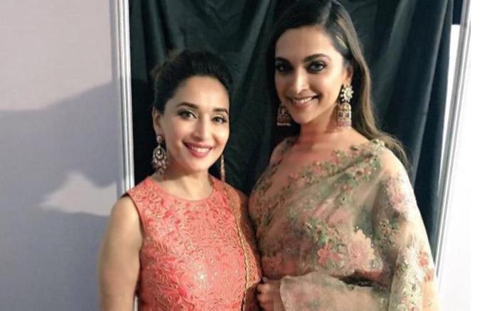 Madhuri Dixit praises Deepika Padukone's Ghoomar