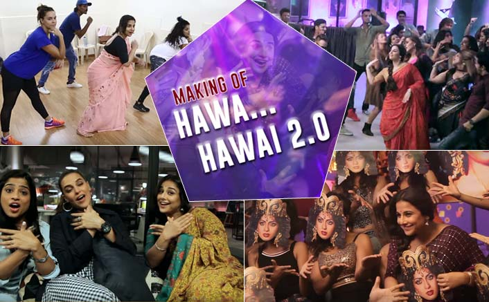 Making Of Tumhari Sulu's Hawa Hawai 2.0 Is What You Need To Watch Right Away