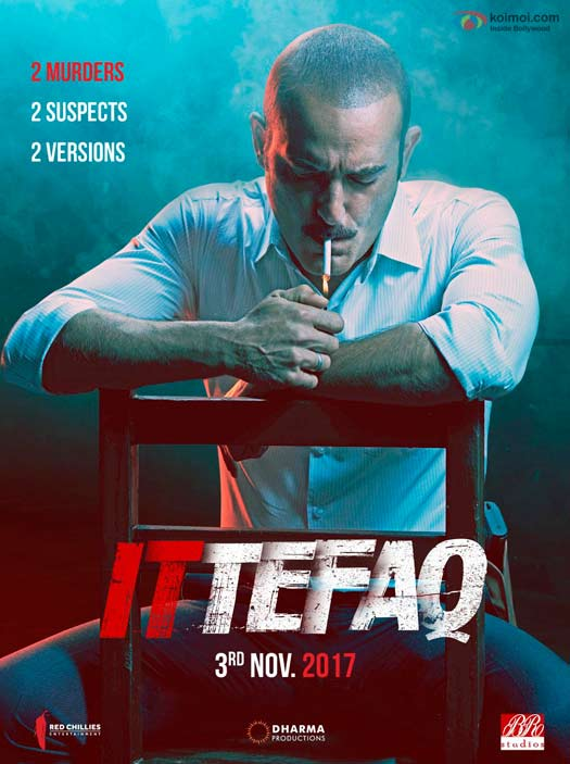 OUT NOW! Sidharth Malhotra's First Look From Ittefaq Is Filled with Suspense