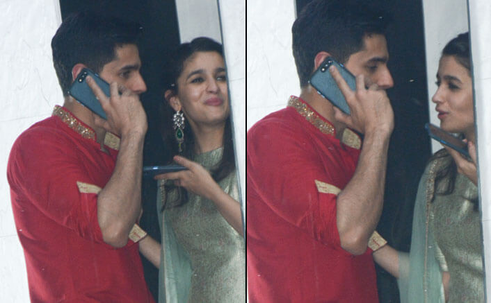 PHOTOS! Alia Bhatt And Sidharth Malhotra Are The Most Awwdorable Couple