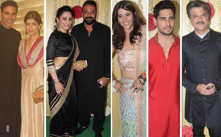 PHOTOS! Here's The Glimpse Of Ekta Kapoor's Grand Diwali Party