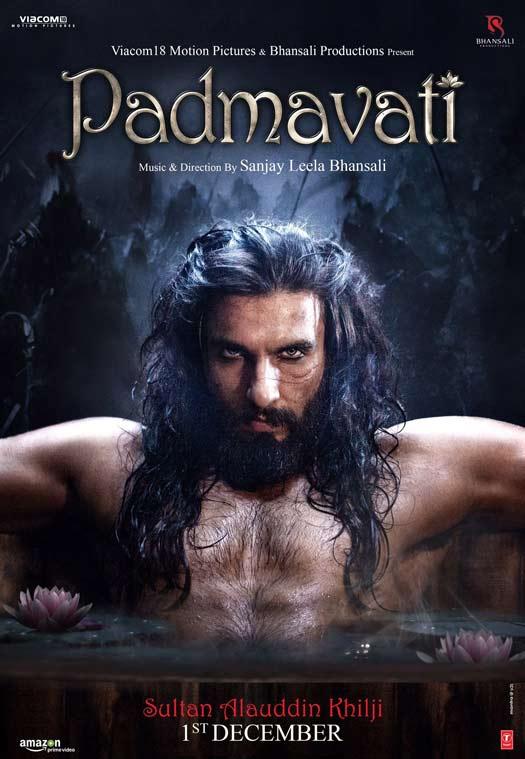 Ranveer Singh's First Look As Sultan Allaudin Khilji From Padmavati Is Jaw Dropping