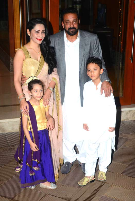 Sanjay Dutt's Diwali Party Had A Huge Guest List! See Who All Made It To The Party