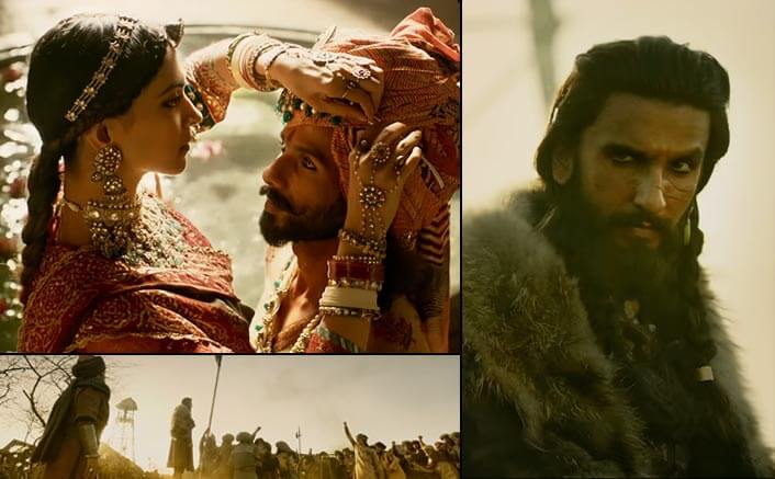 The trailer of Sanjay Leela Bhansali's Padmavati hits it out of the ballpark!