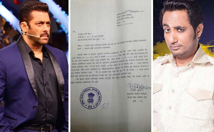 Zubair Khan Files An FIR Against Salman Khan