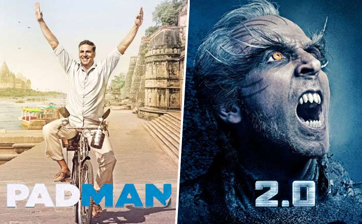 2.0 Or Padman: Which Movie Would You Like To See On The Republic Day?